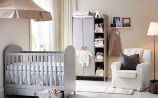 Дизайн и фото комнаты для новорожденного