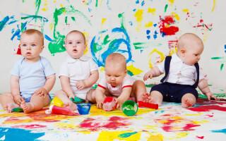 Психологическое развитие младенца