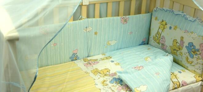 Покупаем постельное белье для кроватки новорожденного
