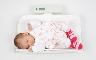Выбираем весы для новорожденного ребенка