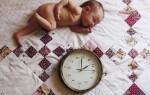 Как установить режим дня для новорожденного?