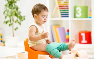 В каком возрасте следует приучать ребенка к горшку