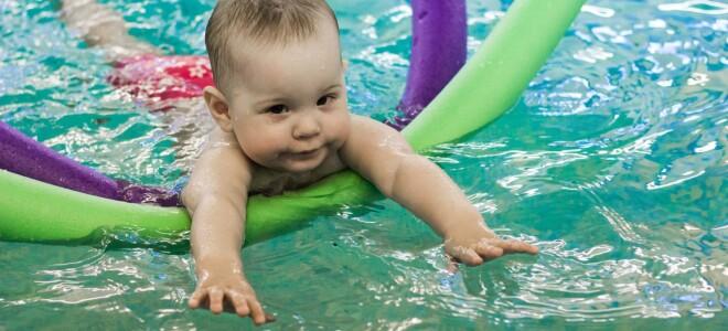 Упражнения для занятий в воде с грудничком