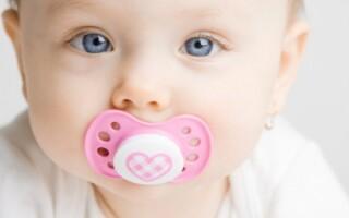 Давать ли пустышку новорожденному ребенку?