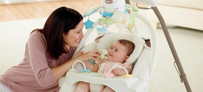 Выбираем кресло-качалку для младенца