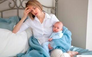 Послеродовая депрессия: симптомы, признаки и как бороться
