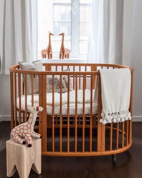 дизайн детской комнаты для новорожденных
